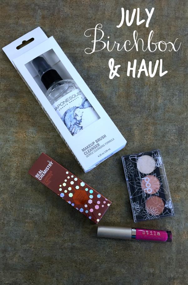 July Birchbox and Haul #birchbox #unboxing #subscriptionbox #beauty #beautyblogger