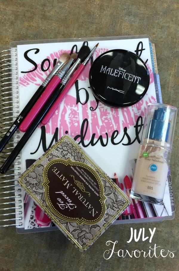 July Favorites #beautyfavorites #erincondren #toofaced #covergirl #maccosmetics #sigmabeauty #beautyblogger #bblogger