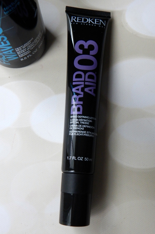 Redken Styling Collection Braid Aid #redken #hair #cosmetology #beauty #beautyblogger #braidaid