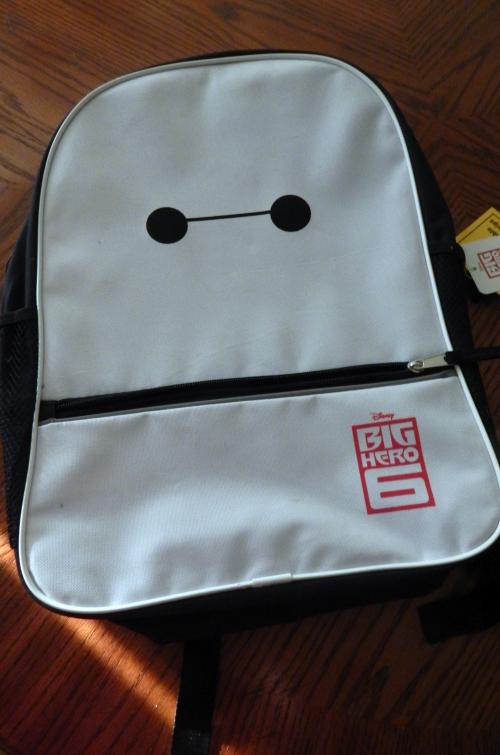 What's In My Backpack Big Hero Six Backpack #schoolsupplies #bigherosix #baymax #balalalala #Disney