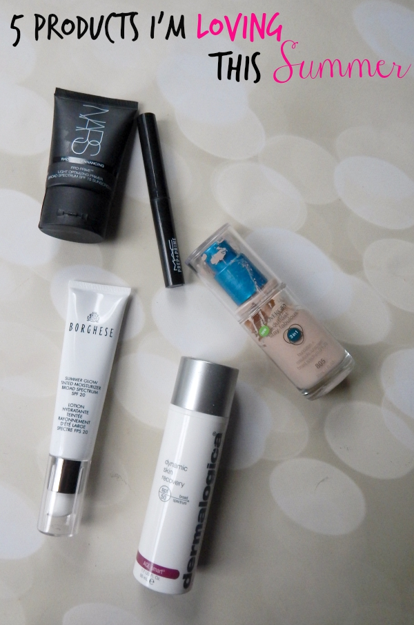 5 Products I'm Loving this Summer #eBayInspired #makeup #beauty #beautyblogger #bbloggers #dermalogica #nars #covergirl #maccosmetics #borghese
