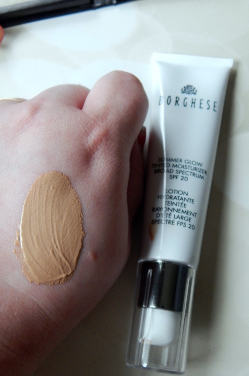 Borghese Summer Collection Tinted Moisturizer #borghese #summerglow #beauty #beautyblogger #bblogger #makeup #cosmetics