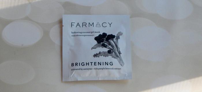 Coconut Gel Sheet Mask Brightening by farmacy #5
