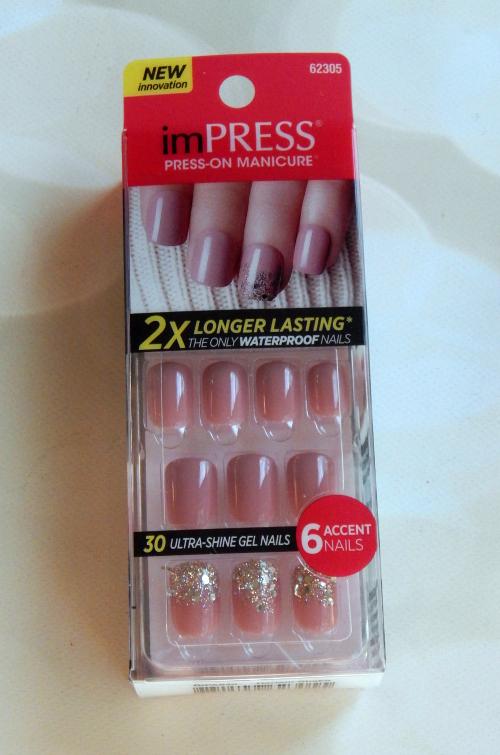 Impress Nails Mauve #beauty #bbloggers #nails #impressnails