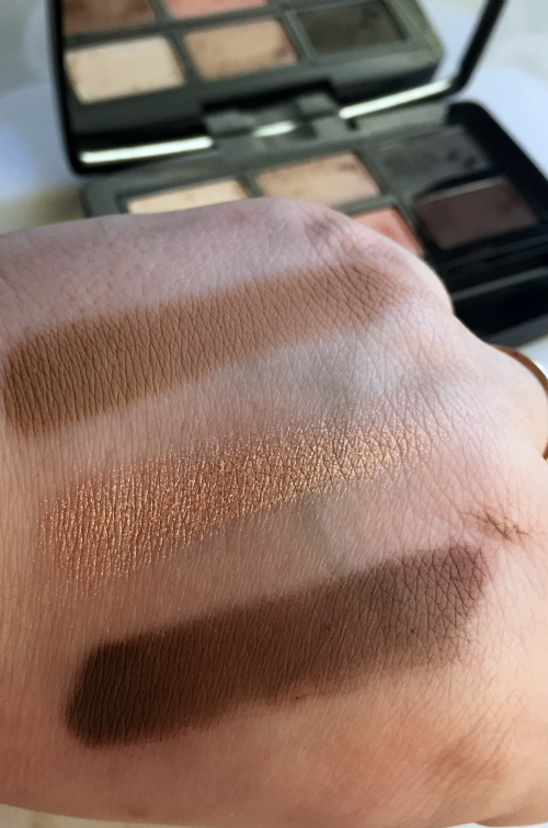 butter LONDON Shadow Clutch Camel, Citrine, and Leather Swatches #beauty #bbloggers #butterlondon #shadowmuse #eyeshadow #shadowclutch #cosmetics #makeup