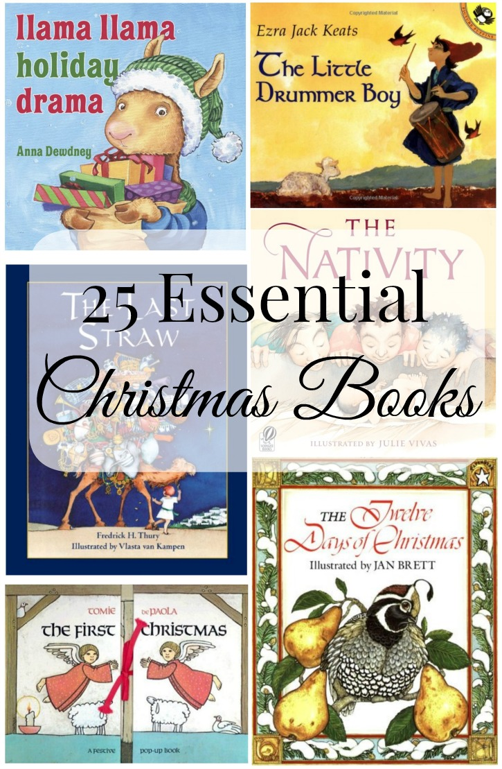 25 Essential Christmas Books from Simply Darrling #bestoftheblogosphere #linkparty #holiday
