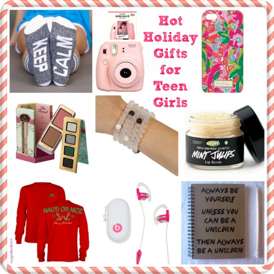 Holiday Gifts for Teen Girls from It's Me, debcb! #bestoftheblogosphere #linkparty #holiday