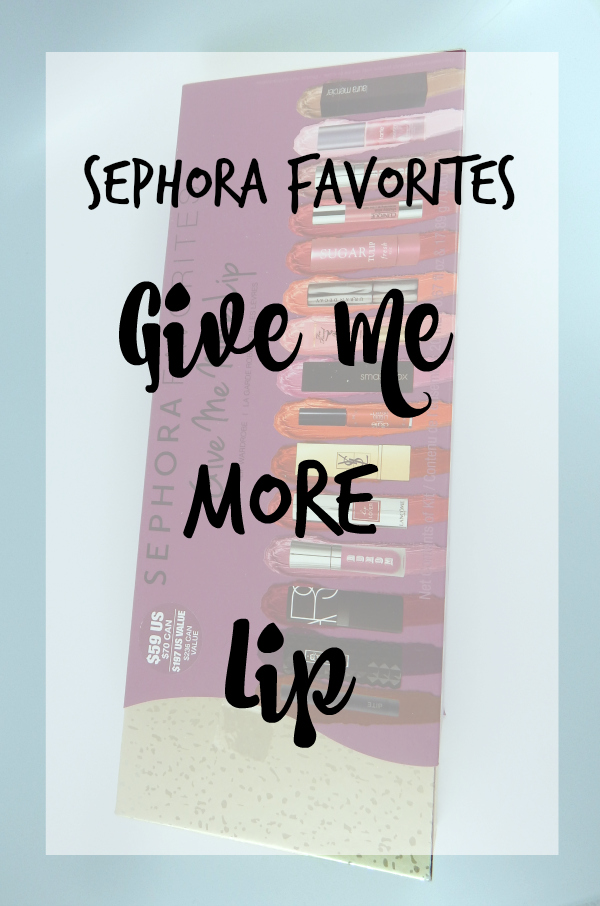 Sephora Favorites Give Me More Lip #beauty #bbloggers #sephora #sephorafavorites #lipstick