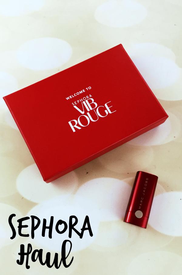 Sephora VIB Rouge Haul #beauty #bbloggers #sephora #sephorahaul #vibrouge