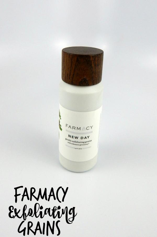 Farmacy New Day Gentle Exfoliating Grains #beauty #bbloggers #skincare #farmacy #farmacybeauty