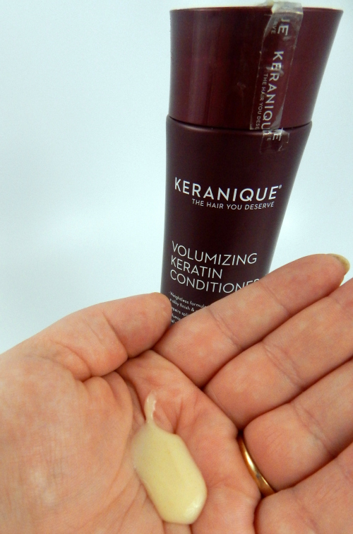 Keranique Volumizing Keratin Conditioner Product #beauty #bbloggers #hair #keraniquehair #iFabboMember