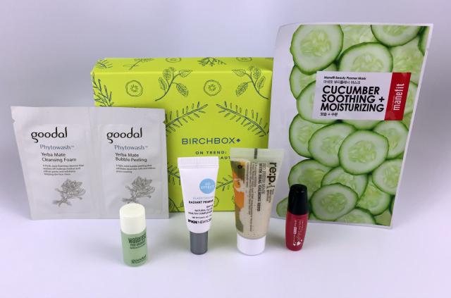 2016 January Birchbox Contents #beauty #bbloggers #birchbox