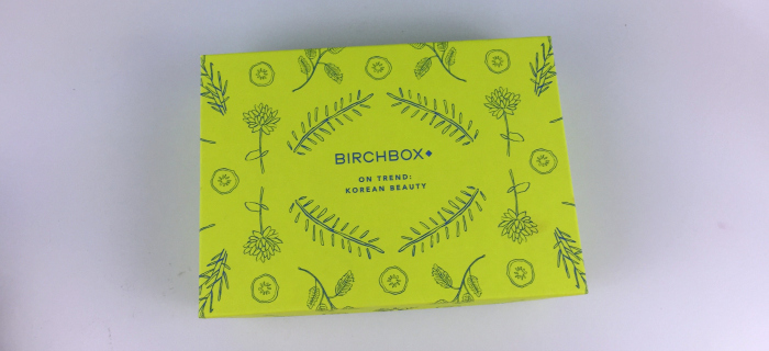 January Korean Beauty Birchbox Featured Image