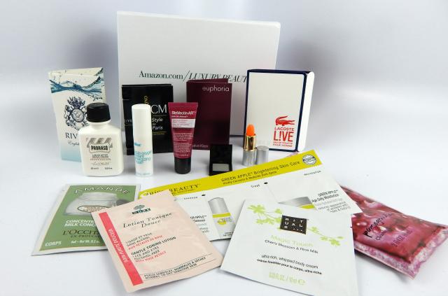 December Beauty Boxes Amazon Luxury Beauty Box #beauty #bbloggers #beautyboxes #subscriptionbox #amazon