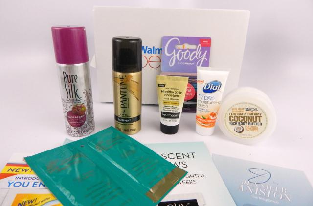 December Beauty Boxes Walmart Beauty Box #beauty #bbloggers #beautyboxes #subscriptionbox #walmart