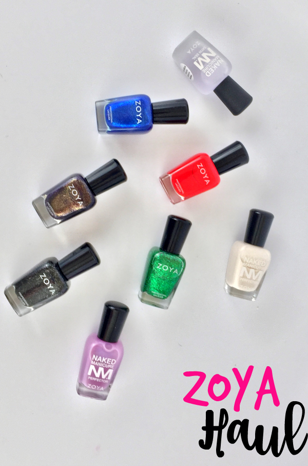 Zoya Haul #beauty #bbloggers #nails #nailpolish #zoya #beautyhaul #everydayzoya