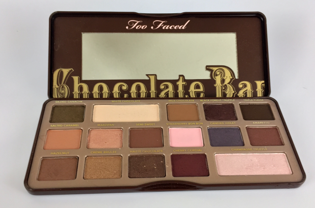2016 Favorites: January Too Faced Chocolate Bar Palette || Southeast by Midwest #beauty #bblogger #beautyfavorites #monthlyfavorites #toofaced