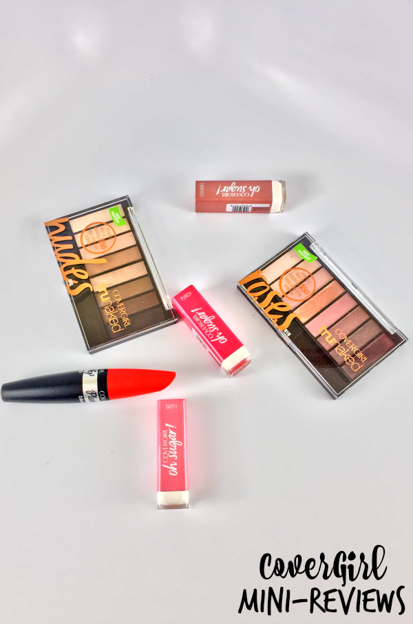 CoverGirl Spring 2016 Mini-Reviews || Southeast by Midwest #beauty #bbloggers #covergirl #plumpify #OhSugar #truNAKED #influenster