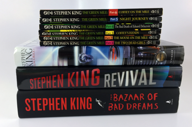 Beauty and Misc Book Haul Stephen King Books || Southeast by Midwest  #beauty #bbloggers #book #haul #bookhaul