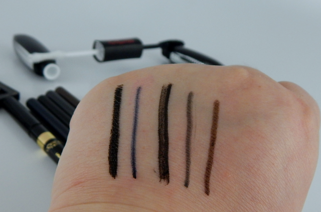 One Brand Tutorial: L'Oréal Eye Product Swatches || Southeast by Midwest #bbloggers #beauty #tutorial #LOrealMakeup