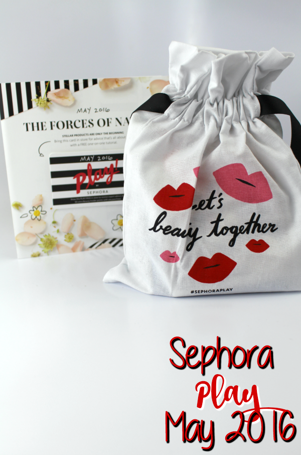 Sephora Play Box: May 2016 || Southeast by Midwest #beauty #bbloggers #subscriptionbox #sephoraplay