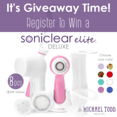 Michael Todd Soniclear Elite Deluxe Giveaway
