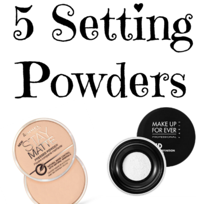 5 Setting Powders Everyone Needs || Southeast by Midwest #beauty #bbloggers #settingpowders