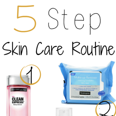 5 Step Skin Care Routine Popular Post || Southeast by Midwest #beauty #bbloggers #skincare