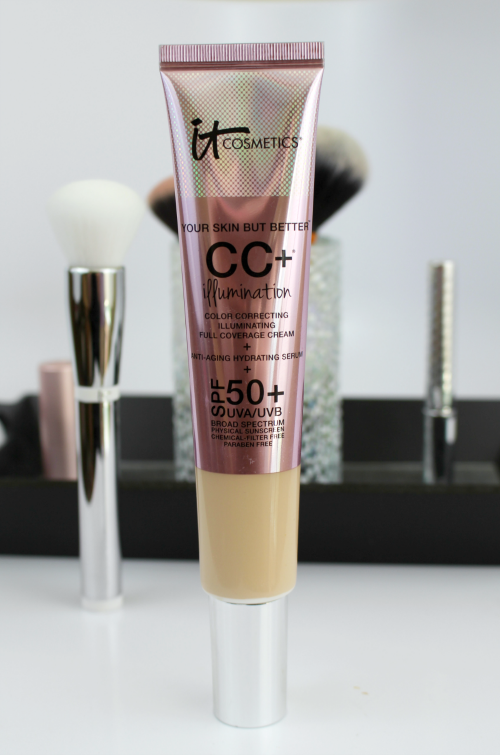 It Cosmetics CC+ Illumination Cream and Brush CC+ Cream || Southeast by Midwest #beauty #bblogger #itcosmetics