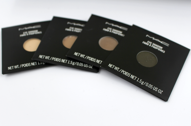 MAC Haul with Swatches Eye Shadows    Southeast by Midwest #beauty #bblogger #MacCosmetics #haul