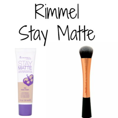 Rimmel Stay Matte Foundation Review Popular Post || Southeast by Midwest #beauty #bbloggers #rimmel