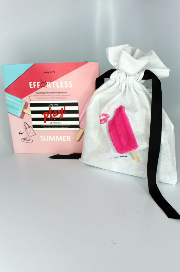 Sephora Play July 2016 Unboxing || Southeast by Midwest #beauty #bbloggers #subscriptionbox #sephoraplay