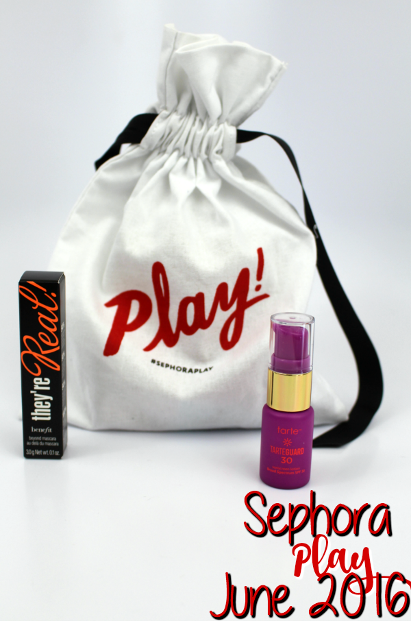 Sephora Play Unboxing: June 2016 || Southeast by Midwest #beauty #bblogger #sephoraplay #subscriptionbox