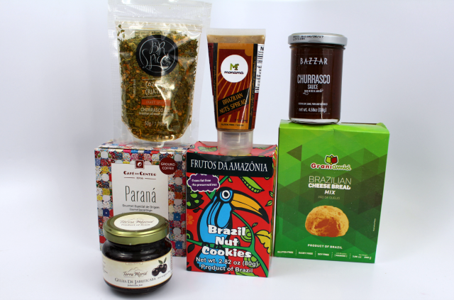 Try the World Brazil Contents || Southeast by Midwest #trytheworld #subscriptionbox