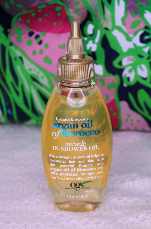 OGX Summer Essentials Miracle In Shower Oil || Southeast by Midwest #beauty #bbloggers #ogxpert #ogx #summeressentials #hair
