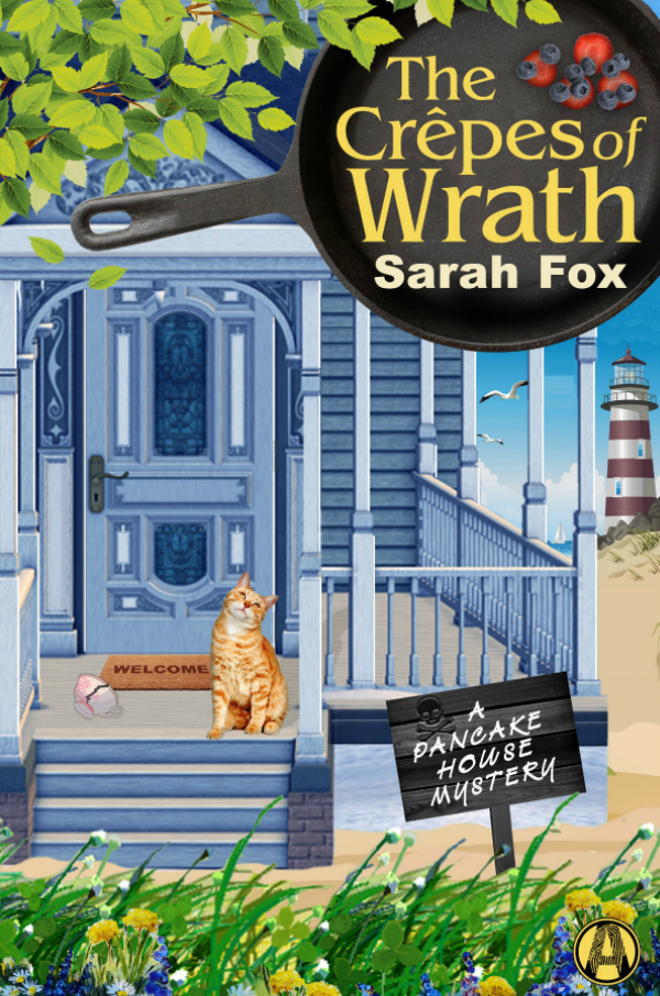 The Crepes of Wrath by Sarah Fox || Southeast by Midwest #books #bookreview #literary
