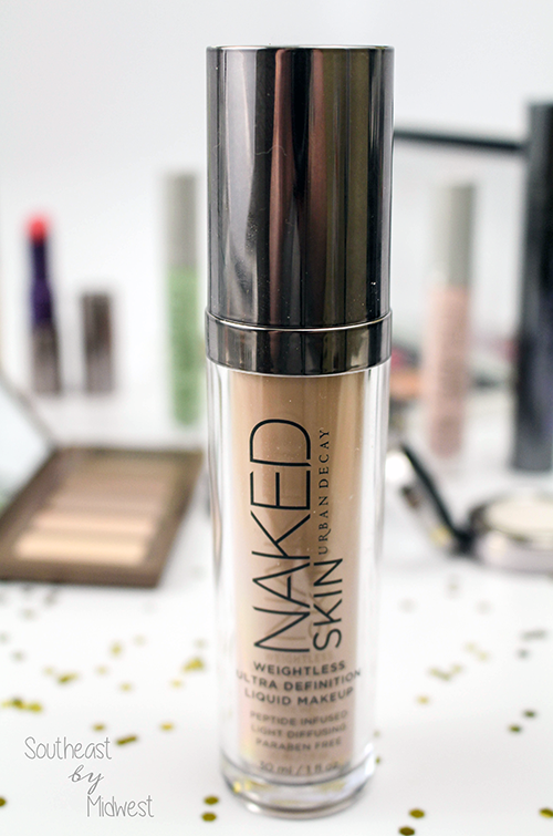 Urban Decay Naked Skin Foundation Close Up || Southeast by Midwest #beauty #bbloggers #urbandecay