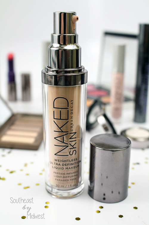 Urban Decay Naked Skin Foundation Nozzle || Southeast by Midwest #beauty #bbloggers #urbandecay