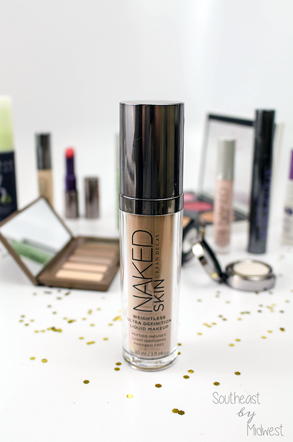 Urban Decay Naked Skin Foundation || Southeast by Midwest #beauty #bbloggers #urbandecay