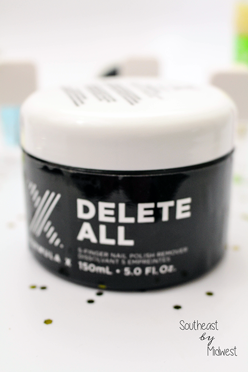 Formula X Delete All 5 Finger Nail Polish Remover Close Up || Southeast by Midwest #beauty #bbloggers #formulax #systemaddict #influenster