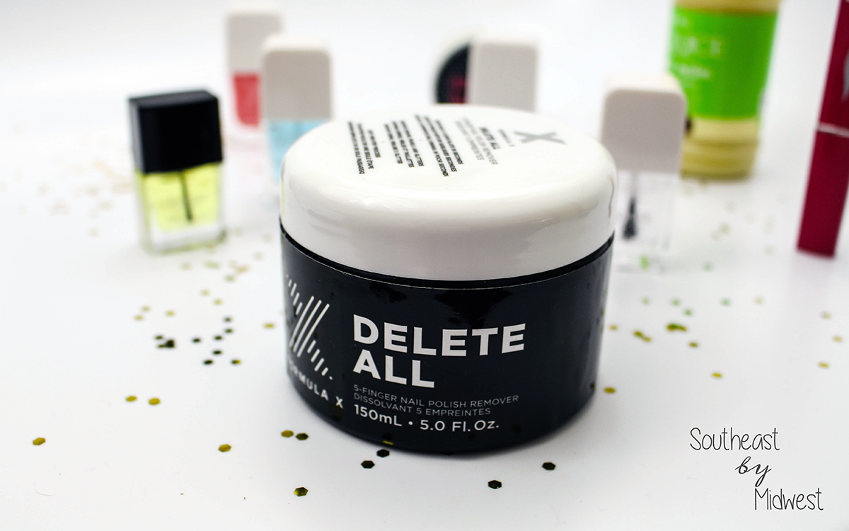 Formula X Delete All Nail Polish Remover Southeast By Midwest