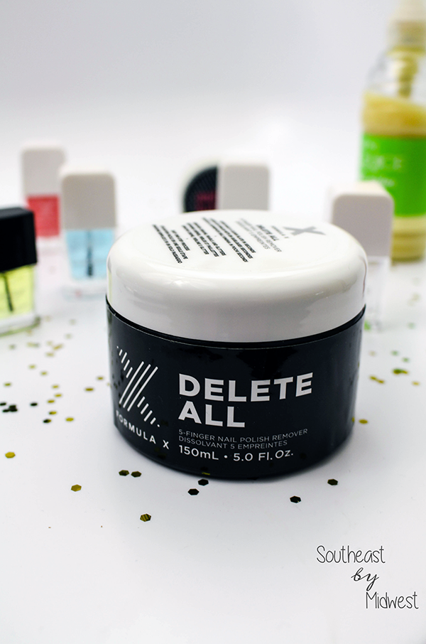 Formula X Delete All 5 Finger Nail Polish Remover || Southeast by Midwest #beauty #bbloggers #formulax #systemaddict #influenster