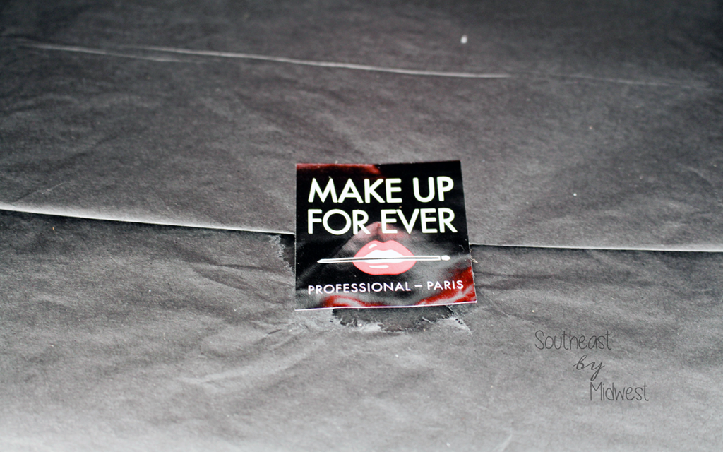 Make Up For Ever Influenster Unboxing