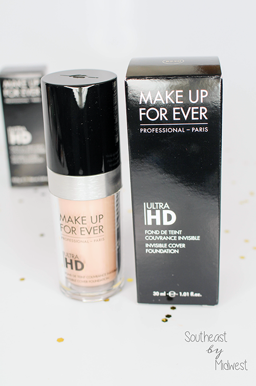 Make Up For Ever Influenster Unboxing Liquid Foundation || Southeast by Midwest #beauty #bbloggers #makeupforever #influenster #mufe #UltraHDGeneration
