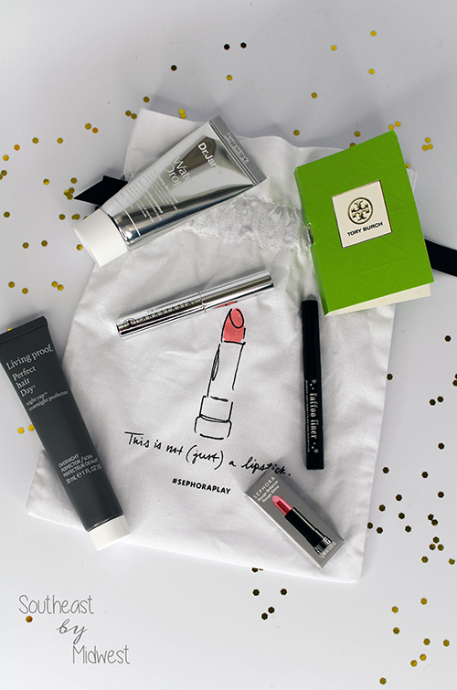 Sephora Play Box: September 2016 Unboxing Contents || Southeast by Midwest #beauty #bbloggers #sephoraplay #subscriptionbox