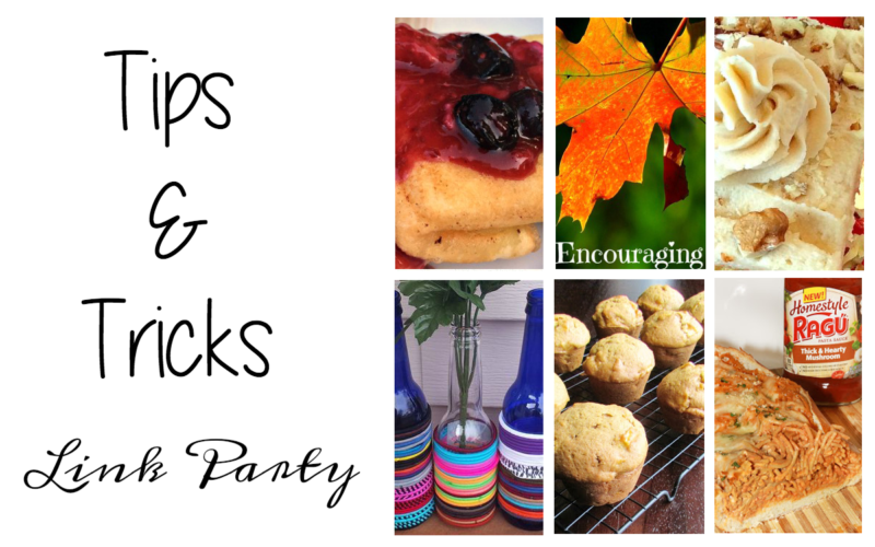 Tips and Tricks Link Party #85