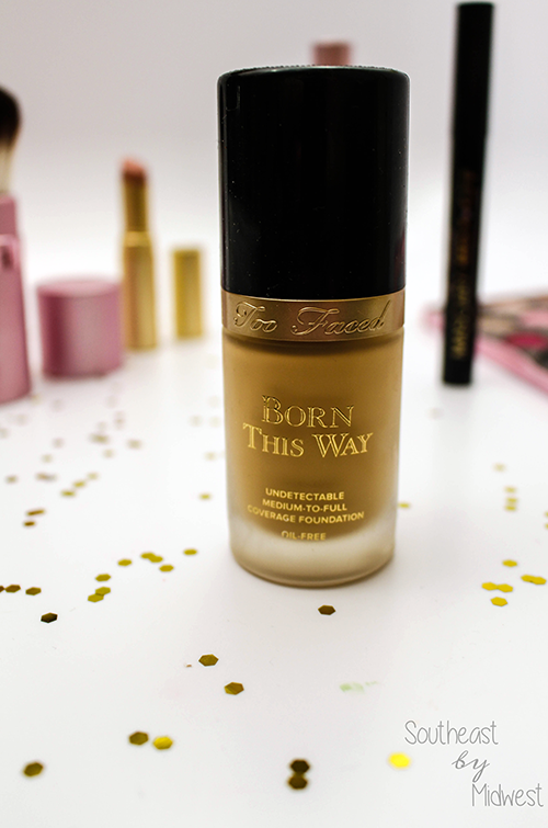 Too Faced Born This Way Foundation Up Close || Southeast by Midwest #beauty #bbloggers #toofaced