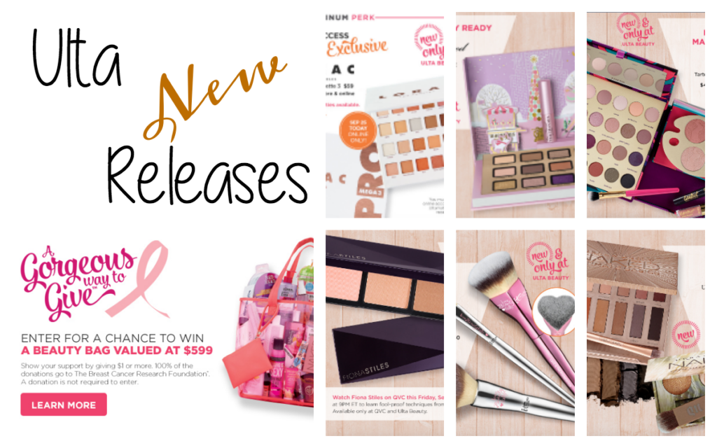 Start Fall with Ulta New Releases