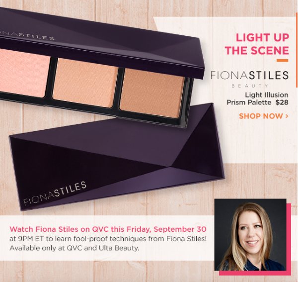 Start Fall with Ulta New Releases: Fiona Stiles Light Illusion Prism Palette || Southeast by Midwest #beauty #bbloggers #ultabeauty #fionastiles