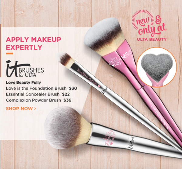 Start Fall with Ulta New Releases: It Brush for Ulta Love Beauty Fully || Southeast by Midwest #beauty #bbloggers #ultabeauty #itcosmetics